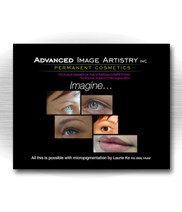 Client: ADVANCED IMAGE ARTISTRY INC. Laurie Ke - Board certified permanent cosmetic practitioner. Pittsfield, MA, Los Angeles, CA. Project: Website design